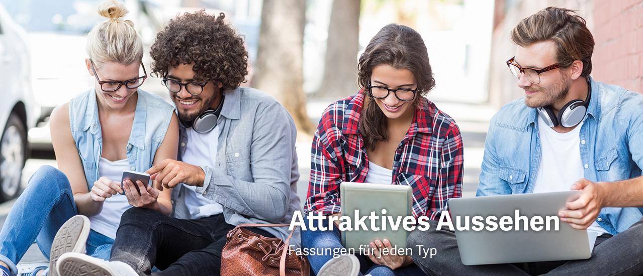 Attraktives Aussehen - junge Leute