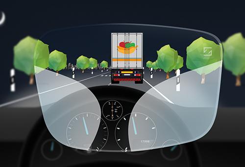 Graphik Sehbereich - ZEISS DriveSafe