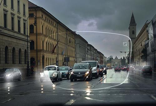 Regenfahrt - Ludwigstraße München - ZEISS DriveSafe