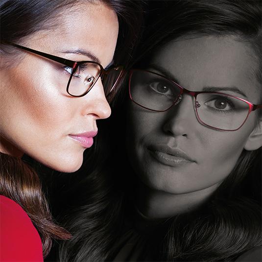 Elegante Dame mit Brille von Visibilia Titan