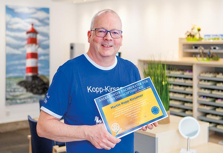 Kopp-Kirsamer - Urkunde Funktionaloptometrie