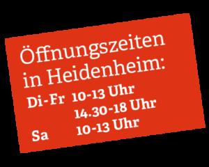 Kopp-Kirsamer – Öffnungszeiten